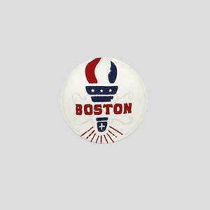 Boston Torch Mini Button