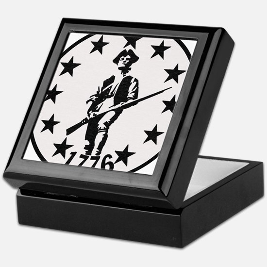 Original Minute Man Keepsake Box