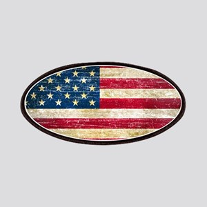 Faded American Flag Patches