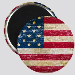 Faded American Flag Magnet