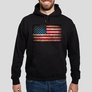 Faded American Flag Hoodie