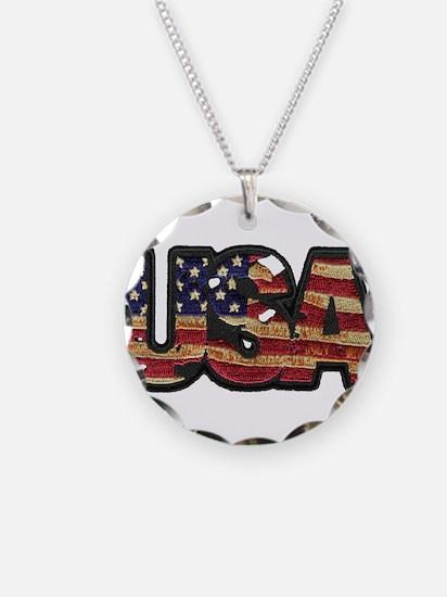 USA Patch Necklace