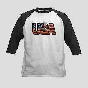 USA Patch Baseball Jersey