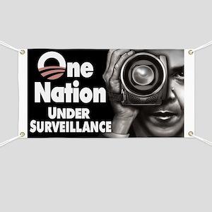 One Nation Under Surveillance Banner