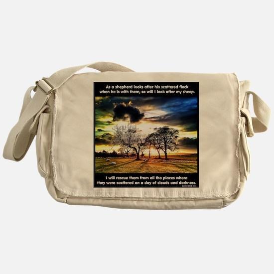 Sheep 1 Messenger Bag