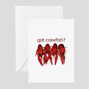 got crawfish? Greeting Cards (Pk of 10)