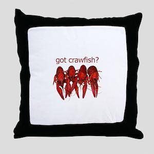 got crawfish? Throw Pillow
