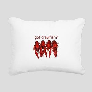 got crawfish? Rectangular Canvas Pillow