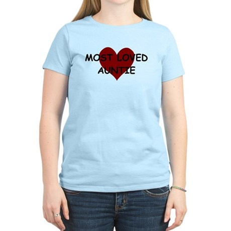 MOST LOVED AUNTIE T-Shirt