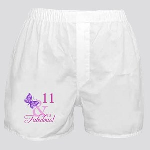 Fabulous 11th Birthday Boxer Shorts