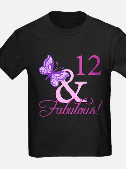 Fabulous 12th Birthday T