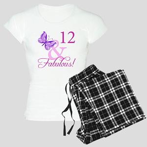 Fabulous 12th Birthday Women's Light Pajamas