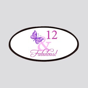 Fabulous 12th Birthday Patches