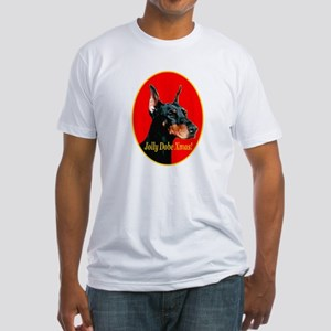 Jolly Dobe Xmas Fitted T-Shirt