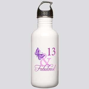 Fabulous 13th Birthday Stainless Water Bottle 1.0L