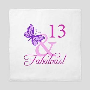 Fabulous 13th Birthday Queen Duvet