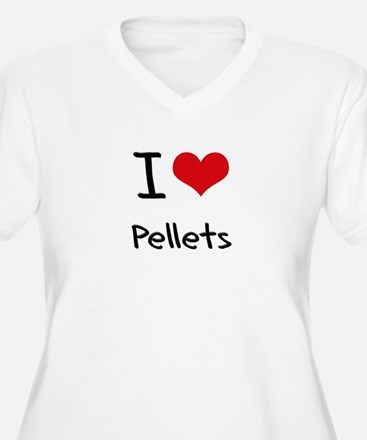 I Love Pellets Plus Size T-Shirt