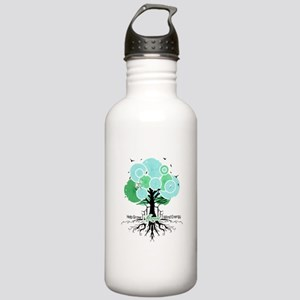 Let Green Energy Grow Stainless Water Bottle 1.0L