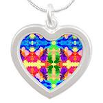 Rainbow Kaleidoscope Butterflies Necklaces