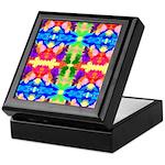 Rainbow Kaleidoscope Butterflies Keepsake Box