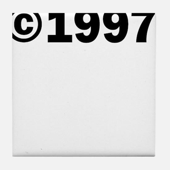 COPYRIGHT 1997 Tile Coaster