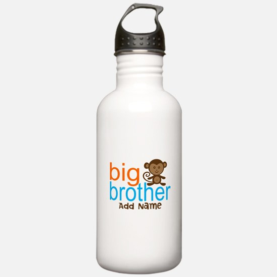 Personalized Monkey Big Brother Water Bottle