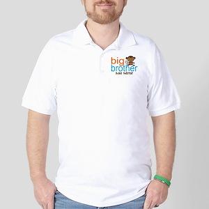 Personalized Monkey Big Brother Golf Shirt