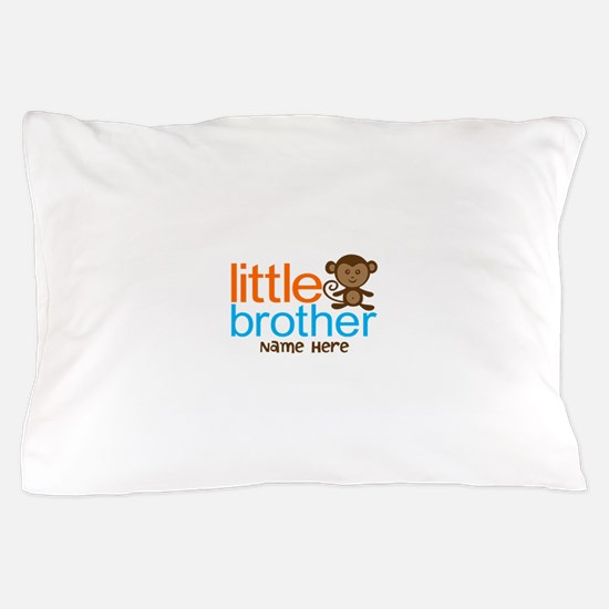 Personalized Monkey Little Brother Pillow Case