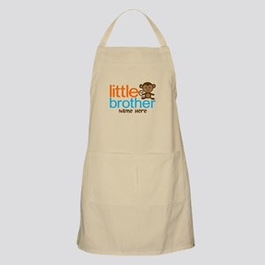 Personalized Monkey Little Brother Apron