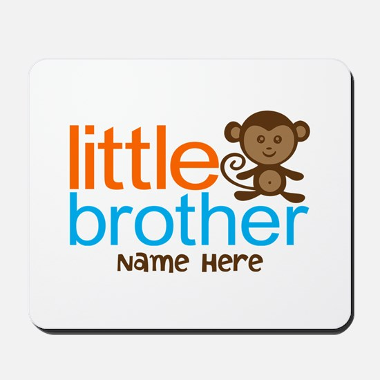 Personalized Monkey Little Brother Mousepad