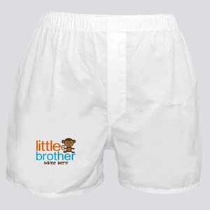 Personalized Monkey Little Brother Boxer Shorts