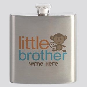 Personalized Monkey Little Brother Flask