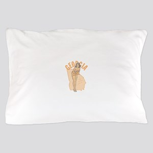 Faded Georgia Pinup Pillow Case