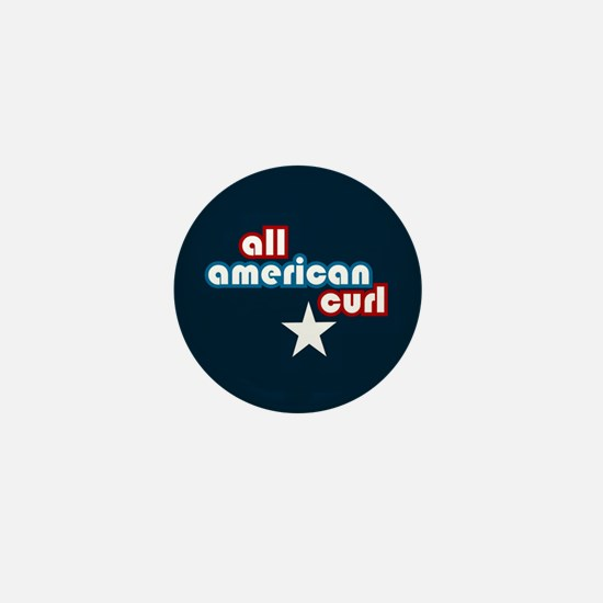 All American Curl Mini Button