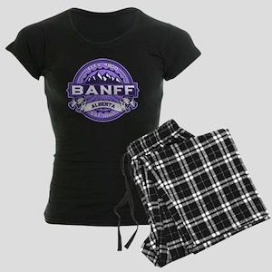 Banff Violet Women's Dark Pajamas