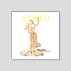 Hawaiian Pinup Hula Sticker