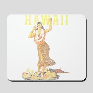 Hawaiian Pinup Hula Mousepad