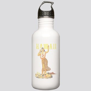 Hawaiian Pinup Hula Water Bottle