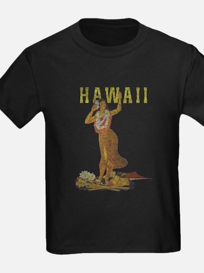 Hawaiian Pinup Hula T-Shirt