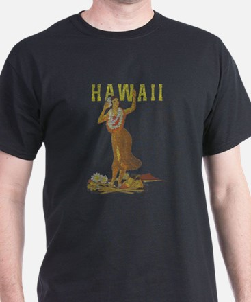 Hawaiian Pinup Hula T-Shirt