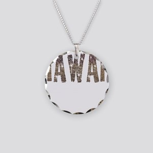 Hawaii Coffee and Stars Necklace