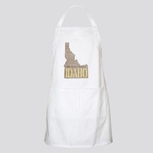 Vintage Idaho Potato Apron
