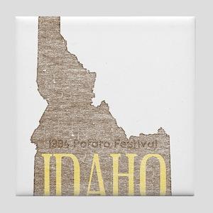 Vintage Idaho Potato Tile Coaster