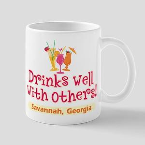 Drinks Well-Savannah, GA- Mug