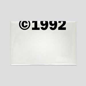 COPYRIGHT 1992 Rectangle Magnet