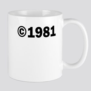COPYRIGHT 1981 Mug