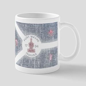 Fort Wayne Vintage Flag Mug