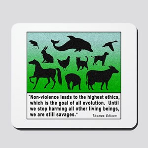 Thomas Edison Quote Mousepad
