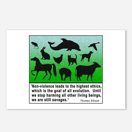 Thomas Edison Quote Postcards (Package of 8)