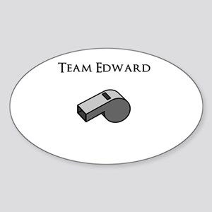 Team Edward with Whistle Sticker